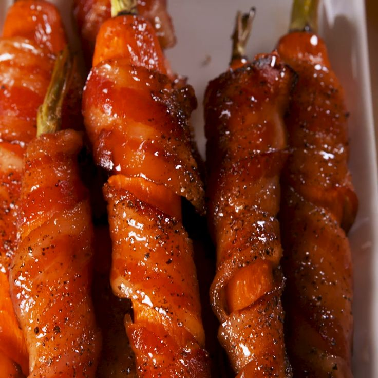 Sweet, savory, rich, and tender. #food #easyrecipe #easter #spring #carrots
