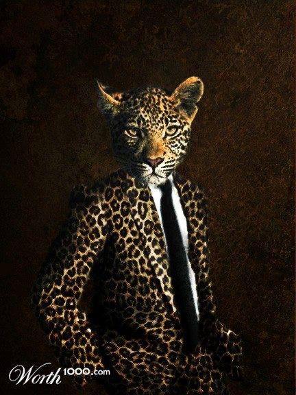 Evening clothes for the debonair cat.