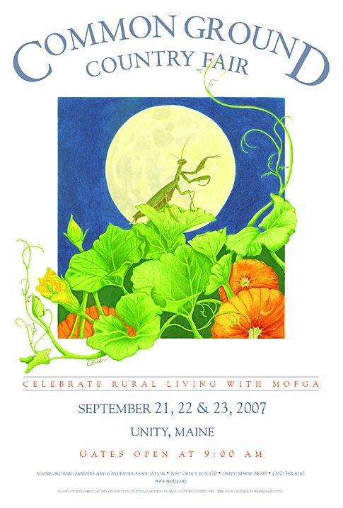 Maine Organic Farmers and Gardeners Association > The Fair > Poster > 2007