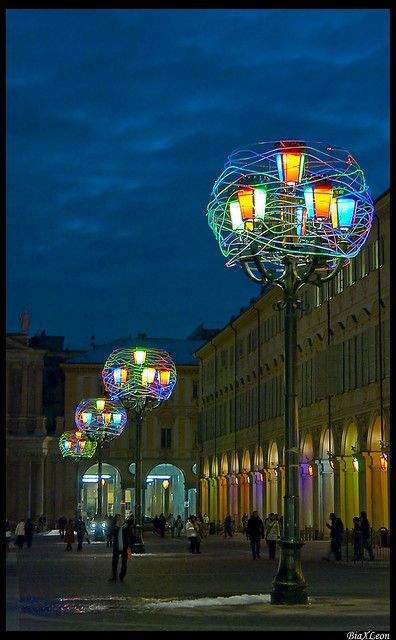 Luci d'Artista- Piazza San Carlo, Torino