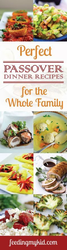 Perfect Passover Bread Recipes for the Whole Family - Passover is the celebration of the Jewish peoples' freedom from Egypt. It is a symbol of their strength, their endurance and their sacrifices. Like the traditions and ceremonies attributed with this holiday, their comes many traditional foods; from spinach vegetable kugel to matzo ball soup; we picked the best recipes just for you!