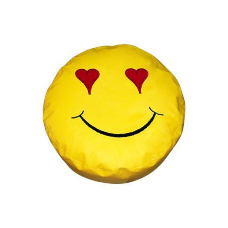 Πουφ Μαξιλάρι Ø 50 Smile#Πουφ Poofomania #bean bag#kentima#pouf#poof#