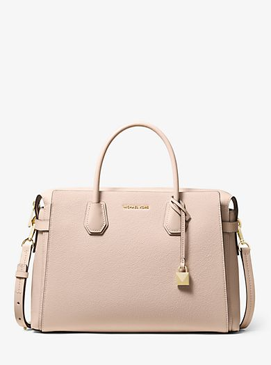 d17e86488e5e Mercer Large Pebbled Leather Belted Satchel | MCHAEL KORS in 2019 ...