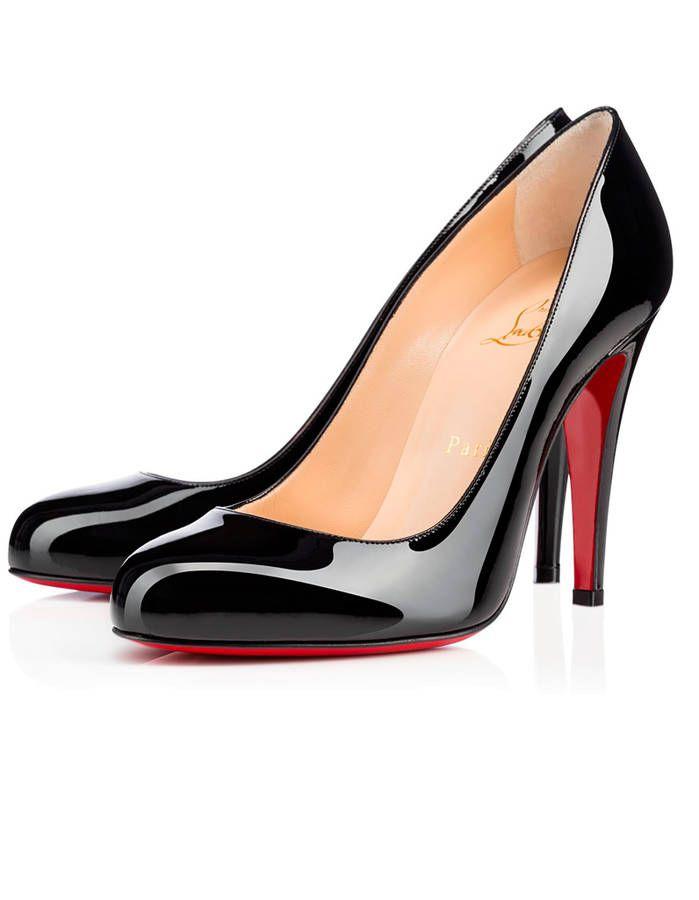 sandales louboutin noires