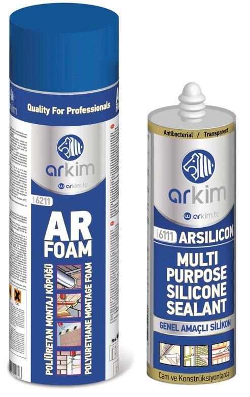 ARKIM Construction Chemicals Packaging Designs by Ceyhun Akgün, via Behance