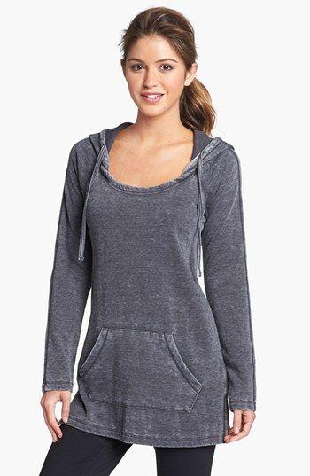 thermal tunic. @Meg Bennett - I NEED this gray sweatshirt!!!
