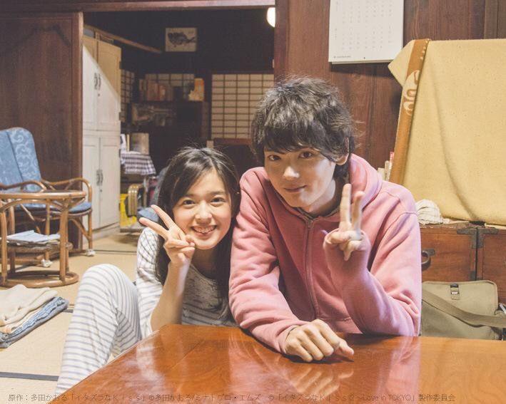Miki Honoka y Furukawa Yuki - BTS Itazura na Kiss Love in Tokyo 2