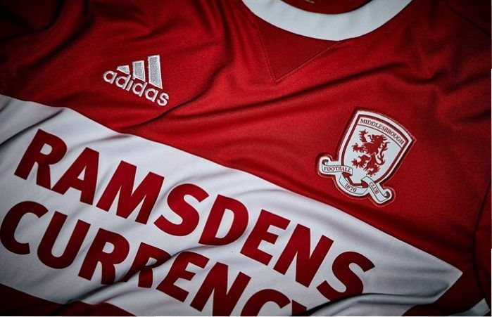 Middlesbrough FC 2017/18 adidas Home Kit