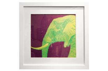 Framed Elephant Print available at meizai