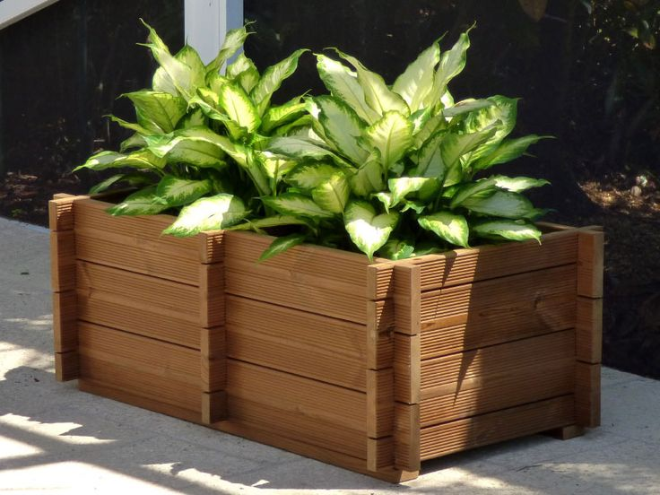 Wooden Planter Boxes Is Cool Extra Large Planters Is Cool 400 x 300