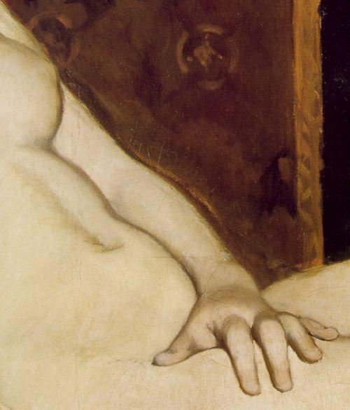 Édouard Manet (1832-1883), Olympia (detail), 1863