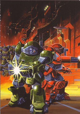 Armored Trooper Votoms #mecha