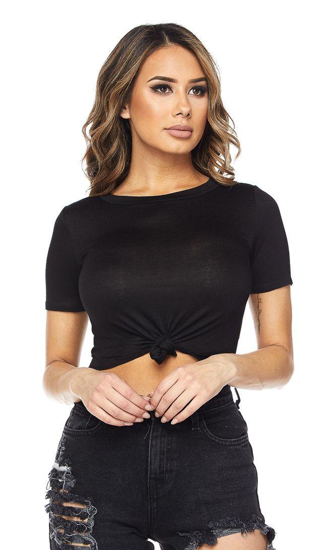 ALESSANDRA CROP TOP & MINI SKIRT   Mini skirts, Women wear