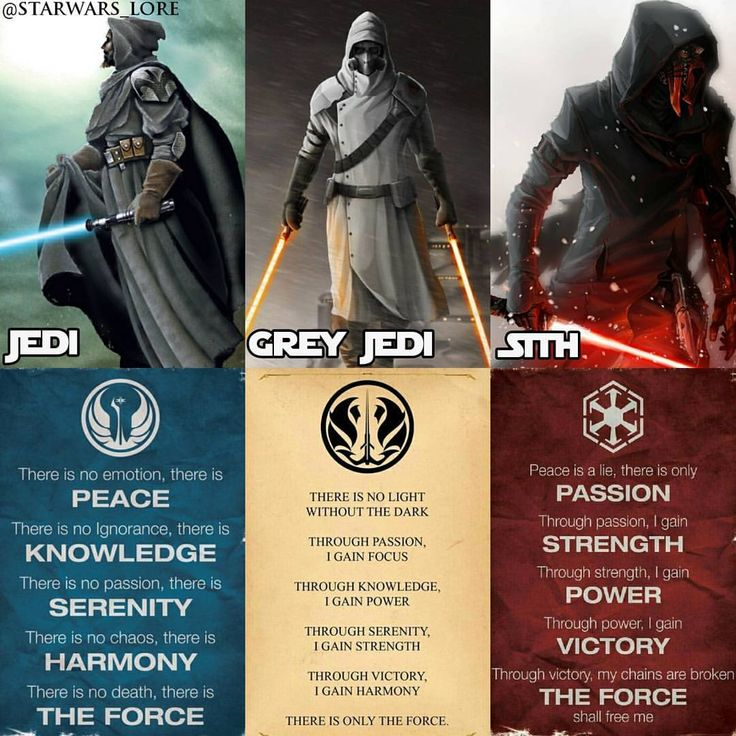 Which side of the Force are you? 👉 Jedi 👉 Grey Jedi 👉 Sith 👇 Tag a friend in the comments below and let me know why you would be one side …