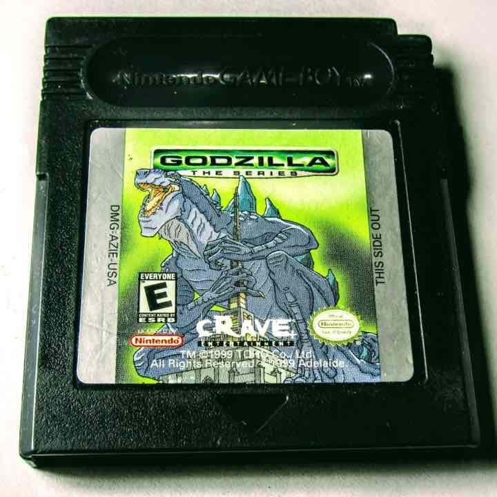 GODZILLA - Nintendo Gameboy Color For sale on #Mercari https://item.mercari.com/gl/m88381969532/