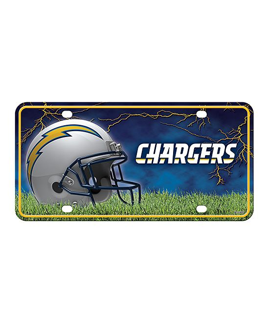 Los Angeles Chargers Auto Plate