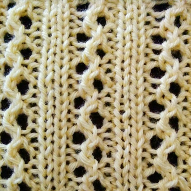 If you are tired of knitting the traditional Rib stitch and want to whip up something a little different, then give the Ribs and Eyelets stitch a try!