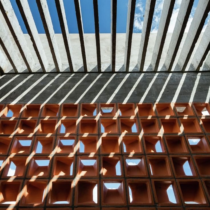 Gallery - Chi House / G+ Architects  | Detail | Brick Brise Soleil | Concrete Cover | Urban House |