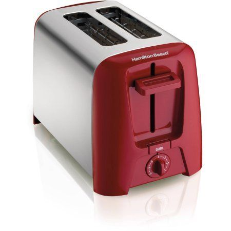 Hamilton Beach Cool Wall 2-Slice Toaster, Fits thick slices and bagels -- Click image to read more details. #OvensToasters