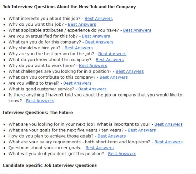 review the steps in the job interview process - The Interview Process Job Interview Process 4 Interview Stages