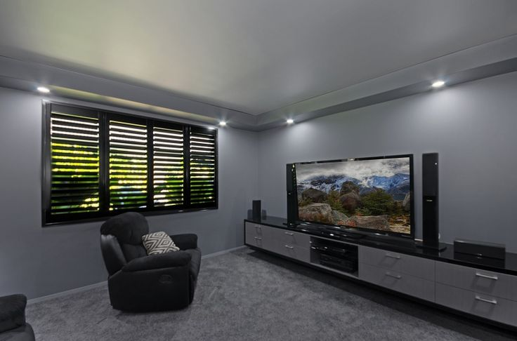 Have a dark room? Match your shutters! Fitted by Blinds For You  #blinds #shutters