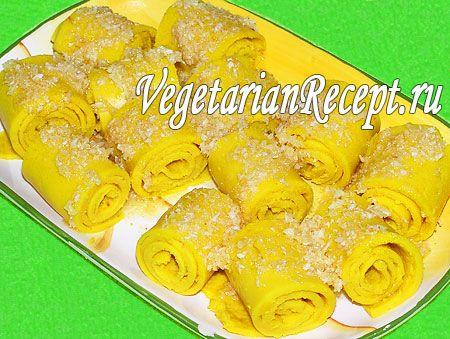 Фото-рецепт блюда из гороховой муки