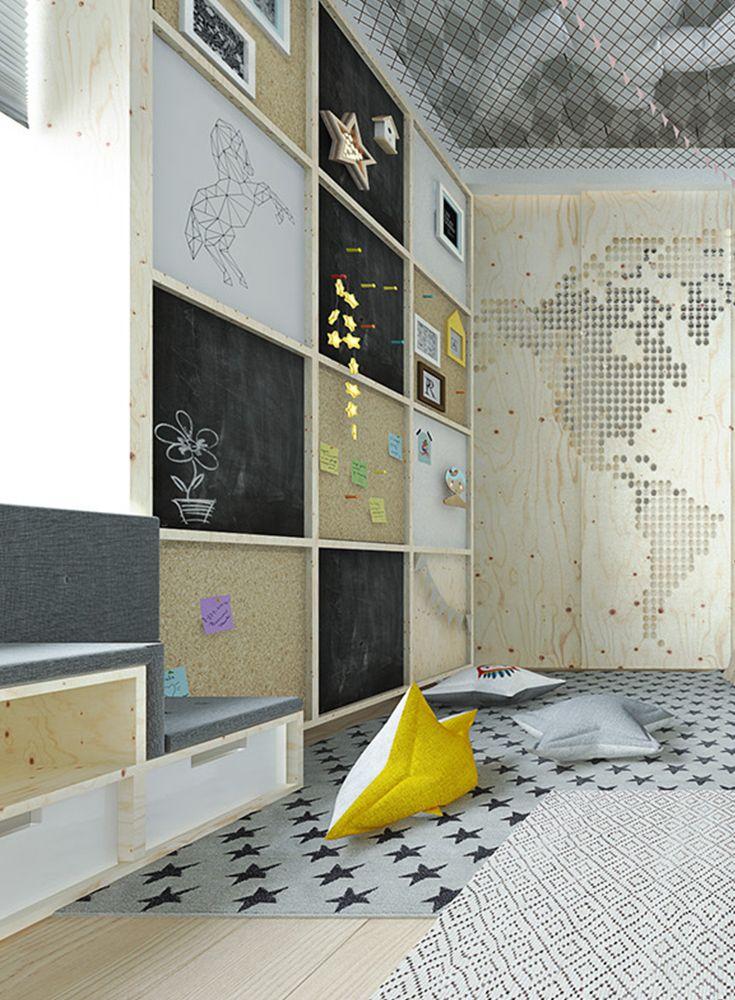 Eine Wand Zum Pinnen Baby Kinder Jugendzimmer Blog Kids