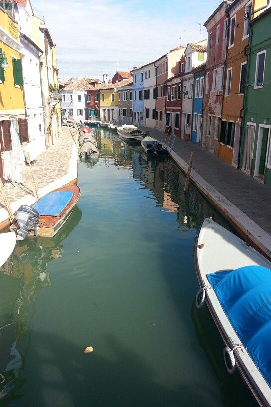Little town in Venice Italy