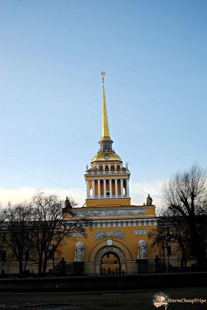 L'ammiragliato - Cosa Vedere a San Pietroburgo