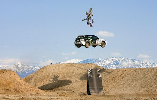 Travis Pastrana and Ken Block. Nitro Circus