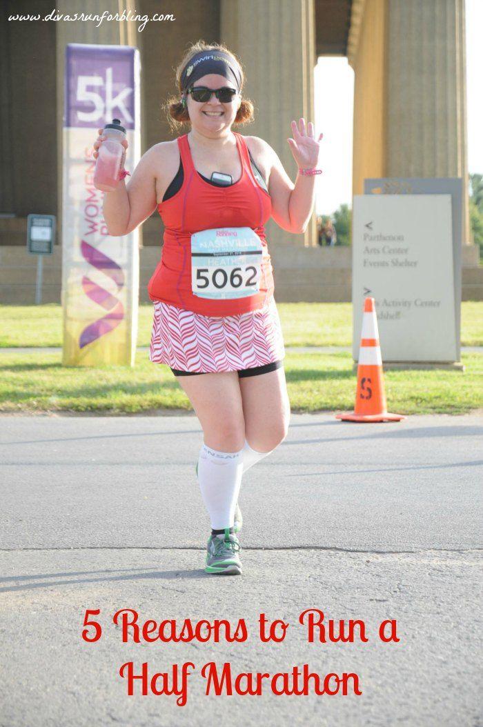 reasons to run a half marathon