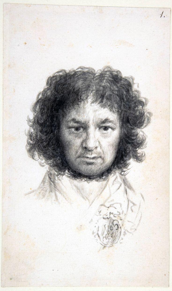 Self-portrait by Goya, 1795.