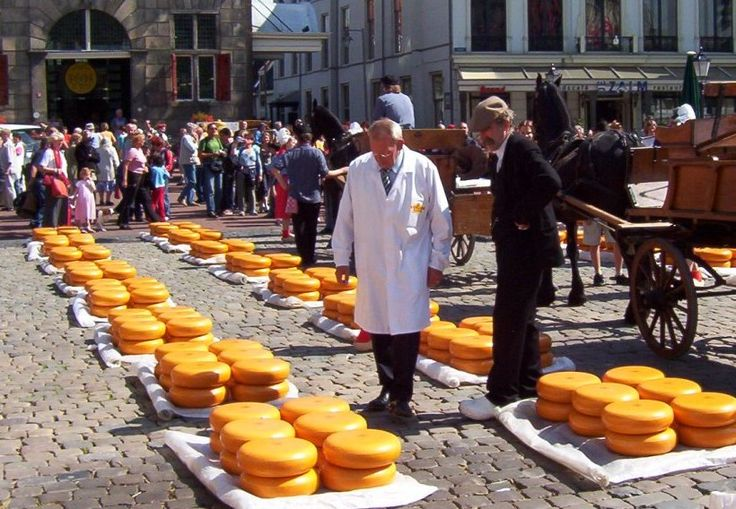 And yes, unavoidable in Holland, Dutch cheese. Everybody's favorite sandwich topping.