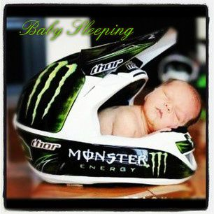 Have to do one similar with Michael's Motocross helmet!