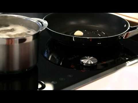 Insalata di farro, cubetti di prosciutto crudo e petali di grana padano #ricette #Neff #cookingpassion