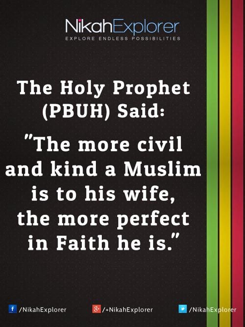 good thoughts for husband and wife relationship in islam