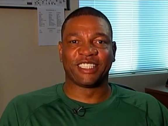 Doc Rivers On Sports Parenting   Basketball coach Doc Rivers explains his philosophy on being a sports parent.