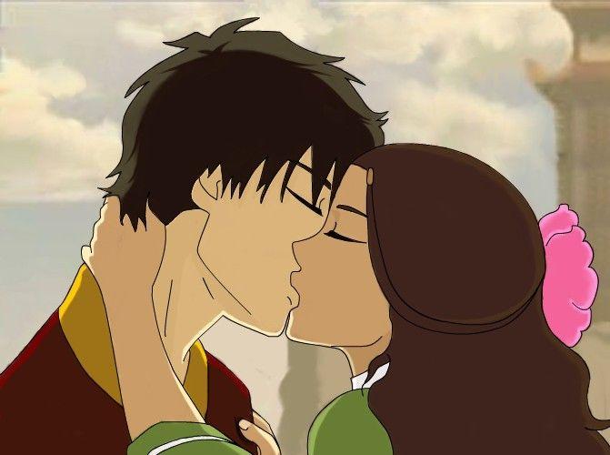 Prince Zuko And Katara S Romantic Kiss Moment Scene From Avatar