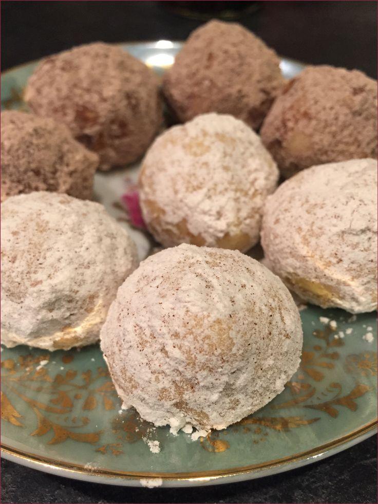 Roasted Chestnut Rooibos Snowball Cookies #svtea #holidaytearecipe # ...