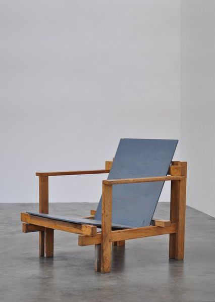 """Chair or no chair: a binary relation. You never know what a person in a chair can do"" - SARAH MANGUSO - (Ultra rare modernist easy chair designed and made by Dutch Architect Jan de Jong in 1960. This chair is one of only 2 that were made by the architect probably for his own home/use)"