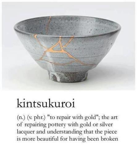 kintsugi: japanese pottery inspires poetry