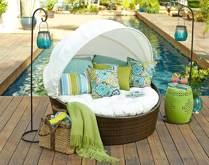 Sunasan  Mocha Lounger  Pool FurnitureWicker  83 best Outdoor Inspiration images on Pinterest   Outdoor living  . Pier 1 Rattan Bedroom Set. Home Design Ideas