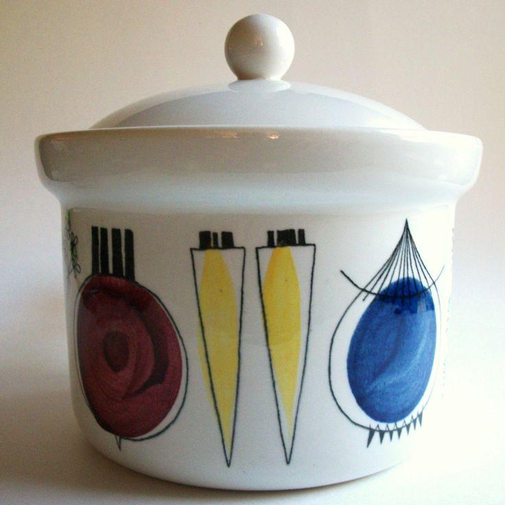 Marianne Westman Rorstrand Picknick Dish Casserole Sweden   eBay