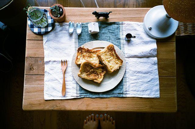 French toast by bamsesayaka, via Flickr
