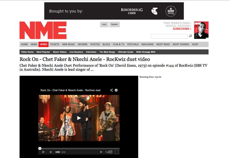 Video featured on NME... http://www.nme.com/nme-video/youtube/id/d6TlSW2ar0I