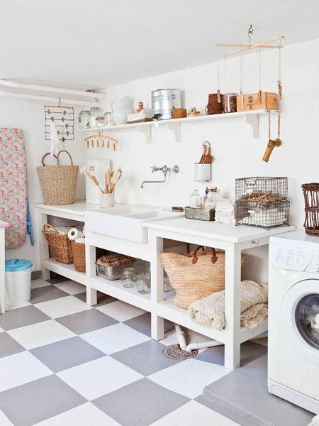 #laundryroom love the floor!