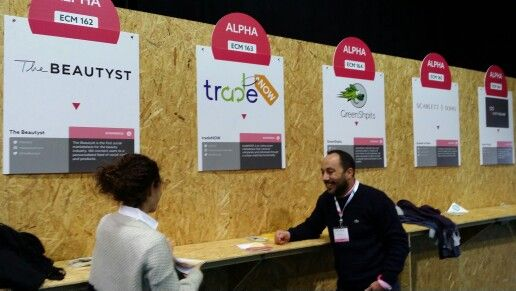 Tradenow team at #WebSummit