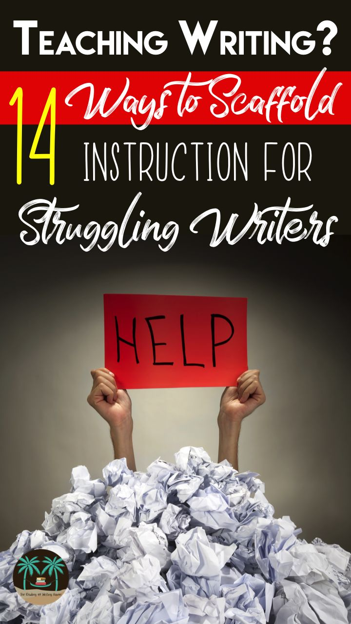 Teaching writing to struggling students? Here are 14 easy-to-implement best-practices for middle and high school teachers.