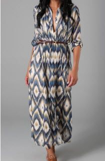 Line & Dot Ikat Dress