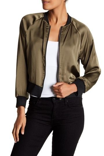 Satin Bomber by Dolce Cabo on @HauteLook